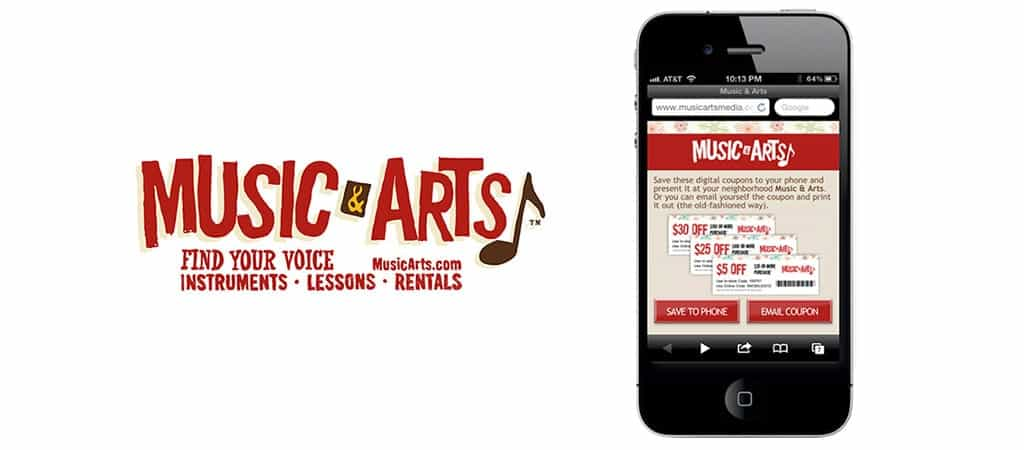Coupon Music And Arts - Herberger Institute for Design and the Arts